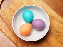 Painted easter egg. Painted easter group egg colored Royalty Free Stock Photos