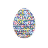 Painted easter egg. Easter egg.Image of an egg with floral ornament Royalty Free Stock Photo