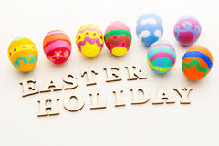 Painted easter egg Stock Photo