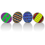 Painted easter eggs Royalty Free Stock Photos