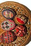 Painted Easter eggs 16 royalty free stock image