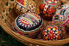 Painted Easter eggs 2 Stock Images
