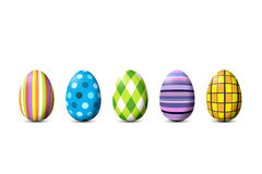 Painted Easter Eggs royalty free illustration