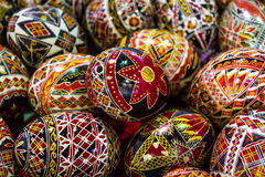 Painted Easter eggs Royalty Free Stock Photo