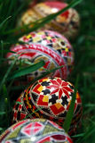 Painted Easter eggs 3 stock image