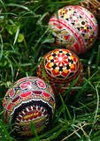 Painted Easter eggs 5 stock photo