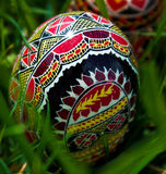 Painted Easter eggs 7 royalty free stock photos