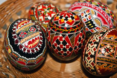 Painted Easter eggs 4 Stock Image