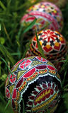 Painted Easter eggs 9 Royalty Free Stock Photos