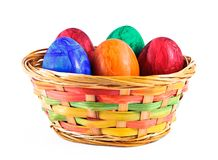 Painted eggs. Stock Photo