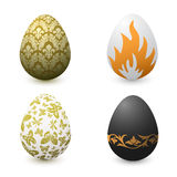 Painted eggs. Painted easter eggs. EPS 8.0 version available vector illustration
