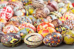 The Easter eggs from the collection The Peace of Lidia Borysenko. The painted eggs from the collection `The Peace`. Author Lidiya Borysenko, http://borisenko vector illustration