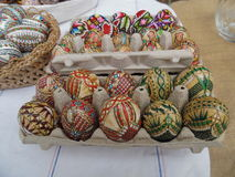 Painted eggs for Easter Royalty Free Stock Images