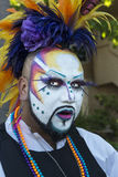 Painted Face Royalty Free Stock Image