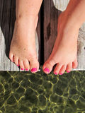 Painted Feet 4 Royalty Free Stock Image