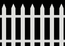 Painted fence Stock Photography