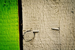 Painted fence Royalty Free Stock Photography