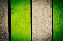 Painted fence Royalty Free Stock Photos