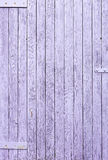 Painted the fence of the old wooden planks background Royalty Free Stock Photo