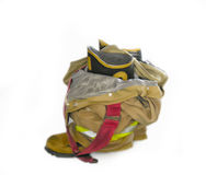 Painted Fire Boots Royalty Free Stock Image