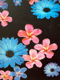 Painted floral wall Royalty Free Stock Photos