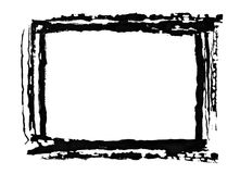 Painted frame Stock Photos