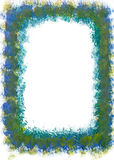 Painted frame. With space for the copy Royalty Free Stock Image