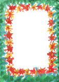 Painted frame. By me with space for the copy Royalty Free Stock Image