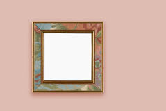 Painted frame Royalty Free Stock Photography