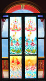 Painted glass Royalty Free Stock Images