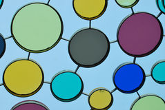 Painted Glass royalty free stock photography