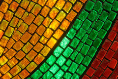 Painted glass Royalty Free Stock Image
