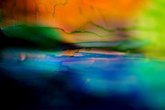 Painted glass background Stock Photo