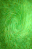 Painted Green Swirl Background Stock Image