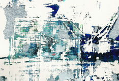 Painted Grunge Background Royalty Free Stock Images