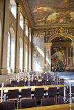 Painted hall in Greenwich. London Royalty Free Stock Photography