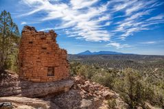 Free Painted Hand Ruins Site In The Canyon Of Ancients National Monument Stock Photo - 129374200