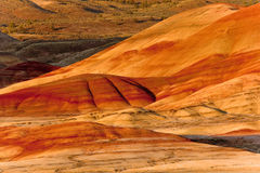 Painted Hills. In Northeastern Oregon, John Day Fossil Beds National Monument, U.S.A Stock Images
