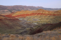 Painted hills Royalty Free Stock Photography