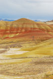 Painted Hills Stock Image