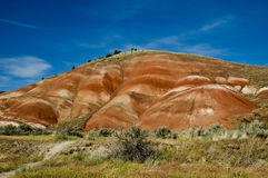 Painted Hills. The rich colors of the Painted Hills, part of the John Day Fossil Beds National Monument in central Oregon Stock Photo