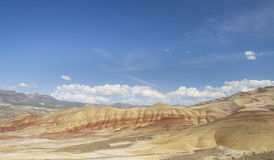 Painted hills closeup view on a sunny day Royalty Free Stock Photo