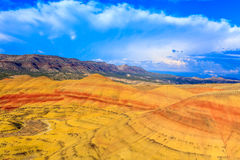 Painted Hills Stock Images