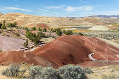 Painted Hills Cove Royalty Free Stock Image