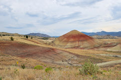 Painted Hills of John Day Fossil Beds Royalty Free Stock Images