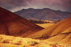 Colorfull hills. Painted hills in john day national monument, Oregon,USA Stock Photos