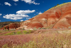 Painted Hills, Mitchell, Oregon Stock Images