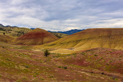 Painted Hills National Monument. Beautiful Image of Painted Hills National Monument in Oregon, USA royalty free stock image