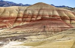 Painted Hills Oregon Stock Image