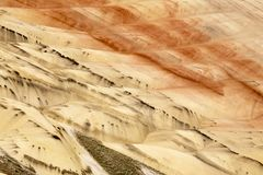 Painted Hills Oregon Royalty Free Stock Photography
